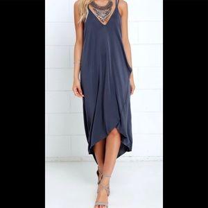 Lush Hi Low Maxi Dress